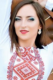 Ukrainian girl Anastasia,27 years old with green eyes and light brown hair.