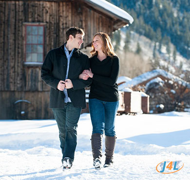 romantic winter getaways northeast
